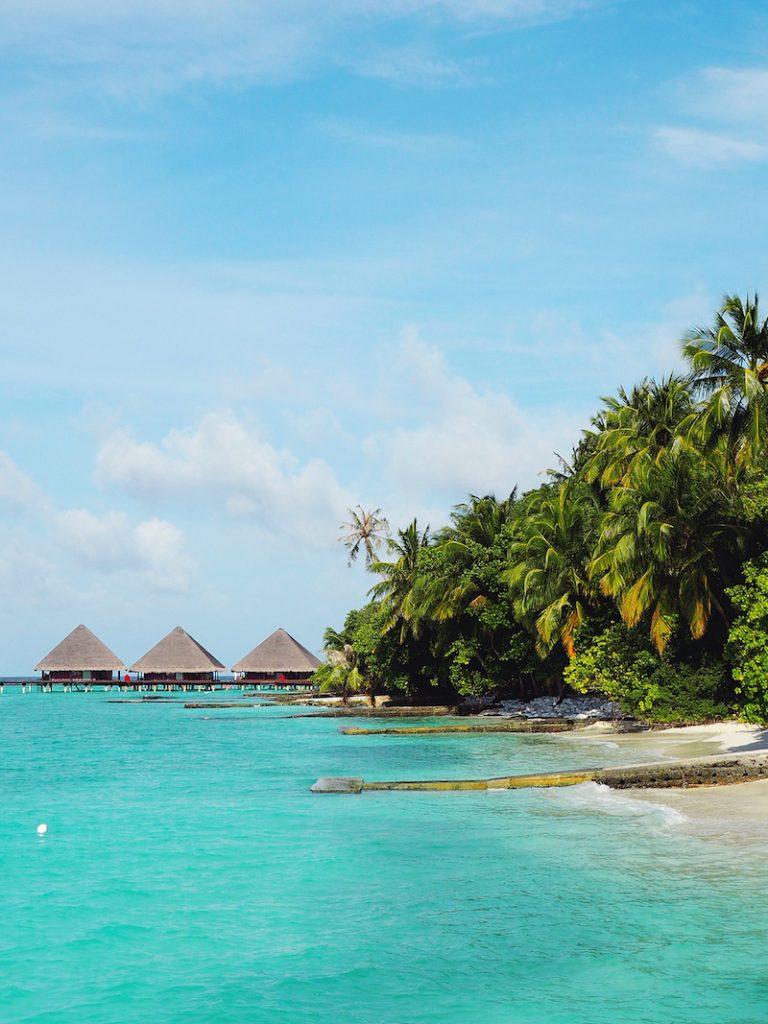 Overwater villas at Adaaran Club Rannahli Maldives