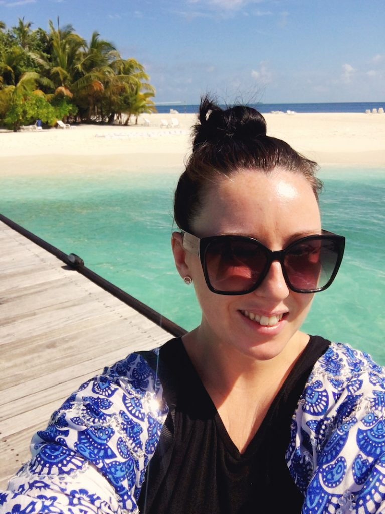 Loving life in the Maldives