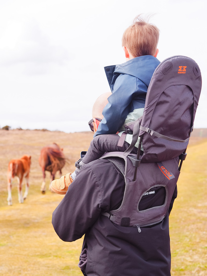 Minimeis shoulder carrier