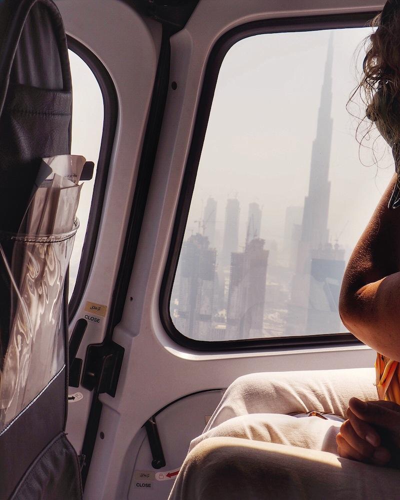 Heli Ride Dubai - view of Burj Khalifa