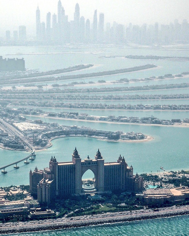 Heli Ride Dubai - flying over Atlantis The Palm