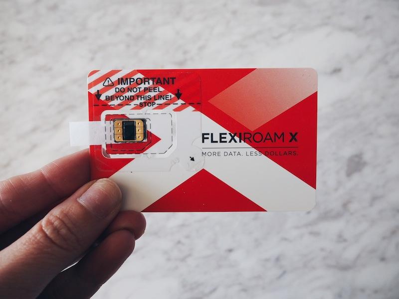 Flexiroam X Microsim