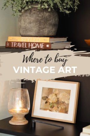Where to buy vintage art