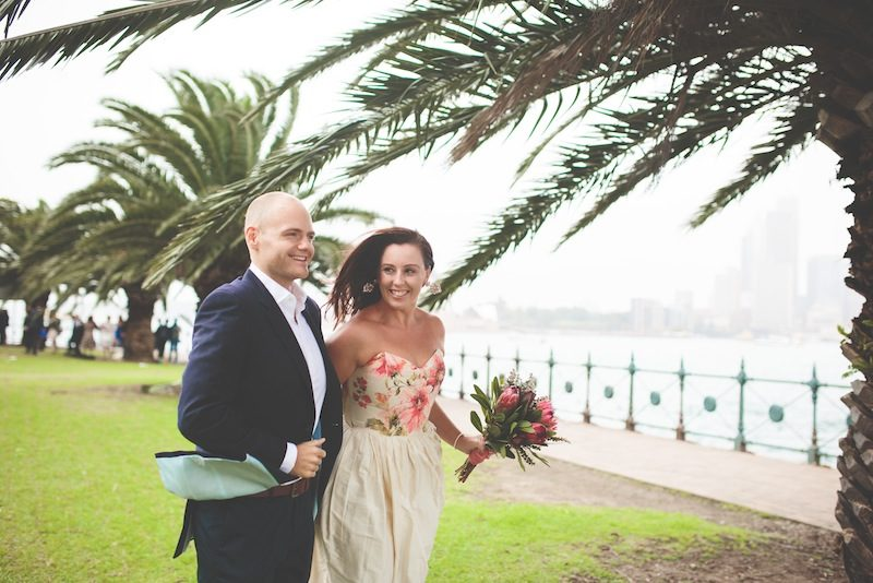 Our Intimate & Low-Key Sydney Harbour Wedding Ceremony