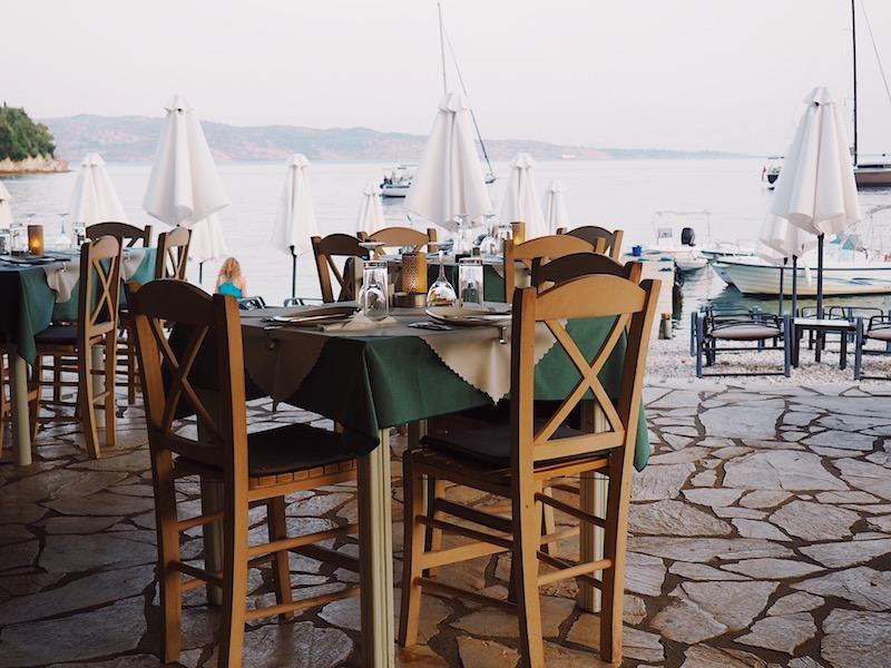Kalami Beach Taverna, Corfu