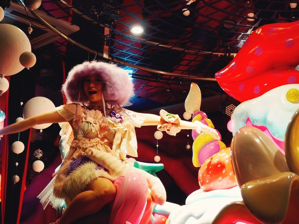 Show time at Kawaii Monster Cafe Tokyo