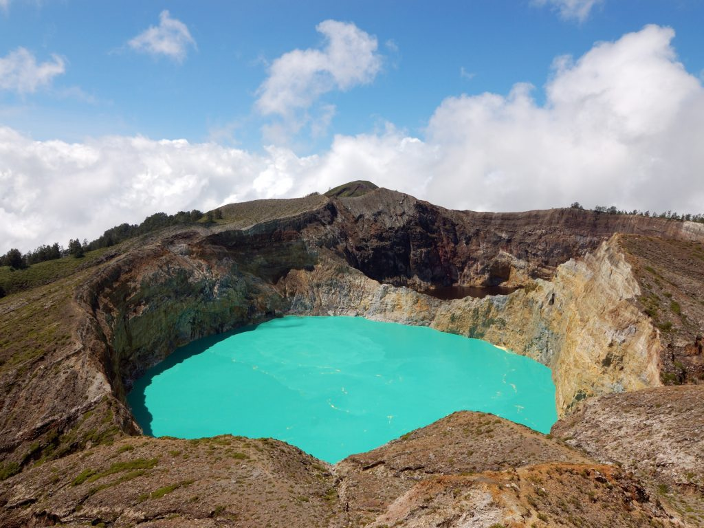 Kelimutu Crater Flores. Image source.
