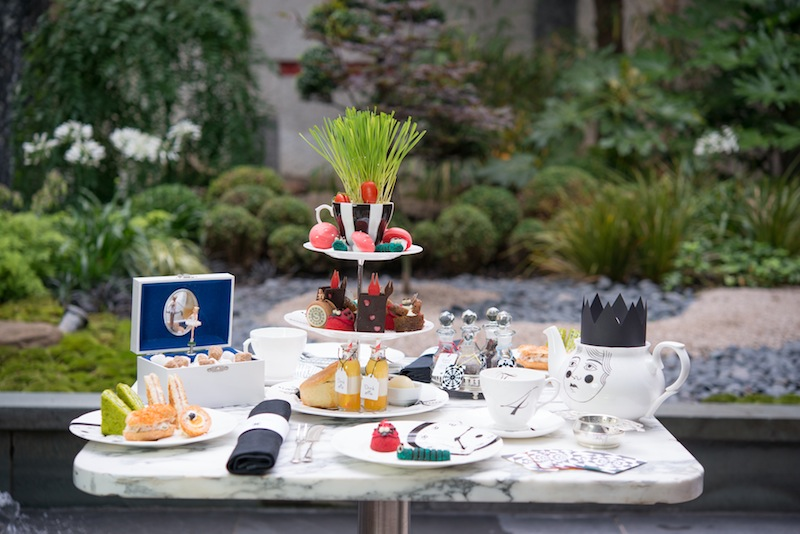 Mad Hatters Afternoon Tea at Sanderson London