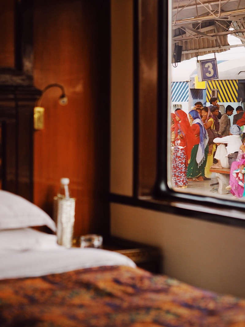 Maharajas' Express Review | World's Leading Luxury Train In India | Scenery