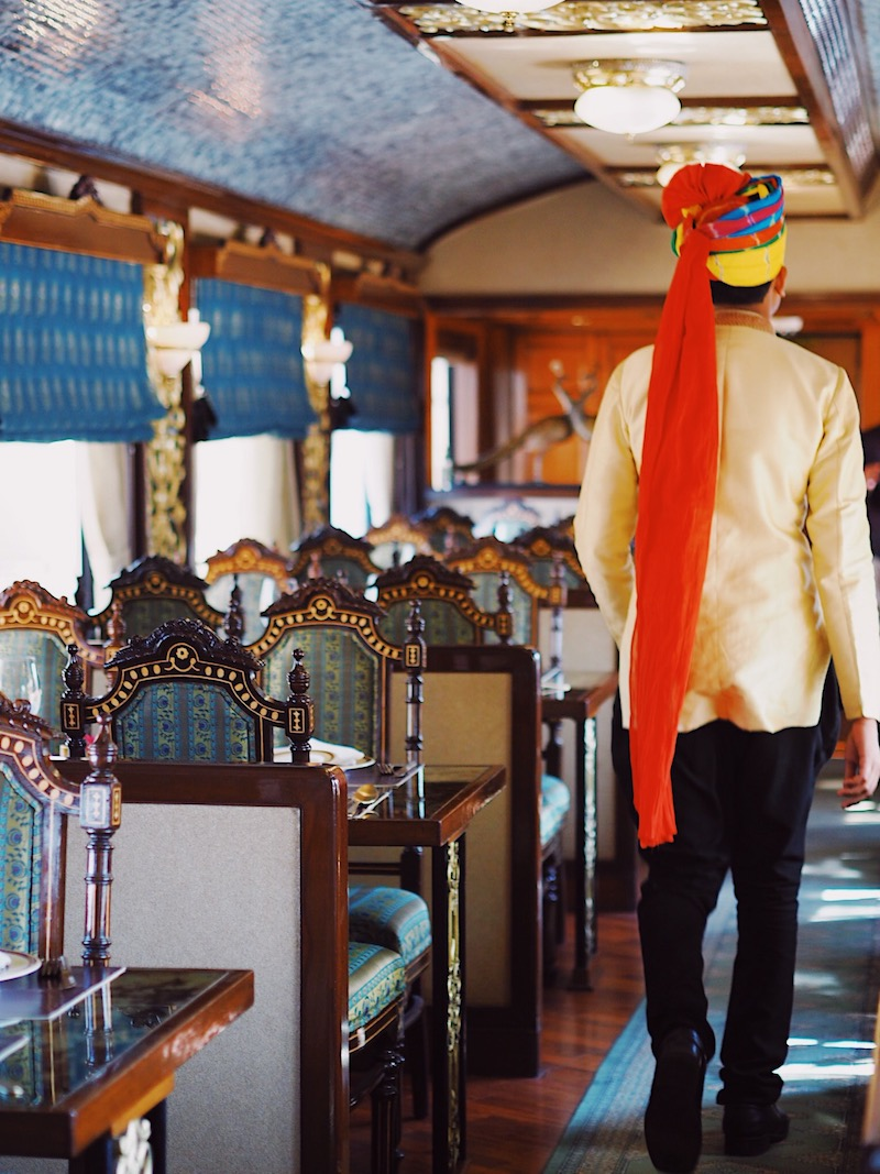 Maharajas' Express Review | World's Leading Luxury Train In India | Dining