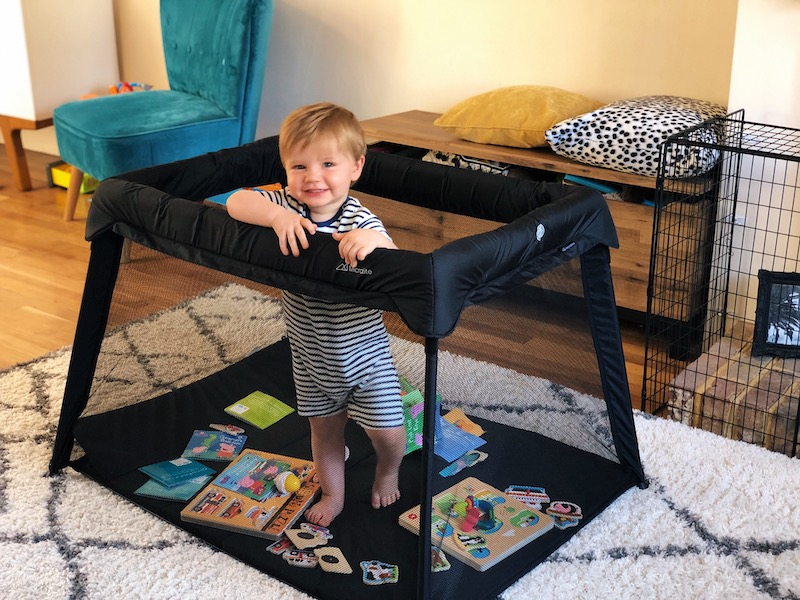 The Micralite Sleep&Go Lite makes a great playpen