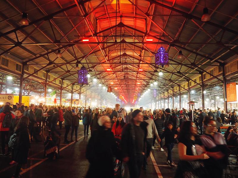 Winter Night Market Melbourne