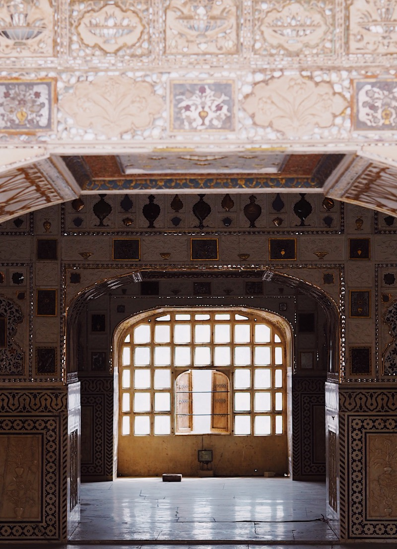 Hall of Mirrors Amber Fort Jaipur