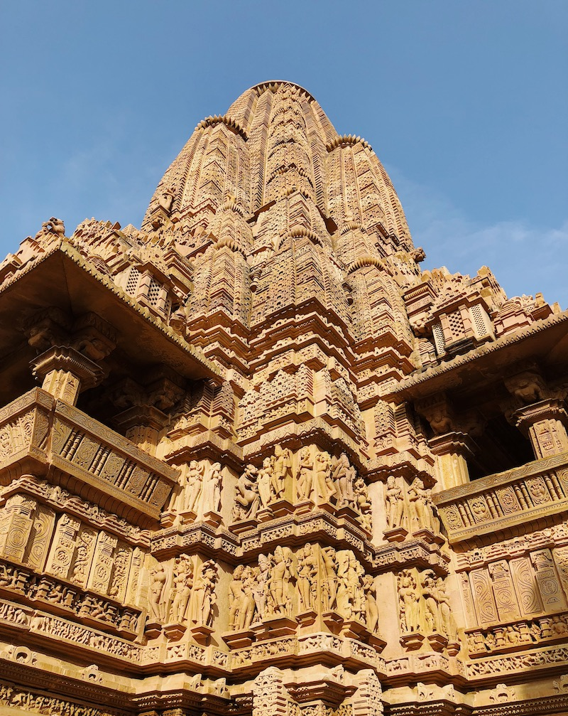 North India highlights Khajuraho