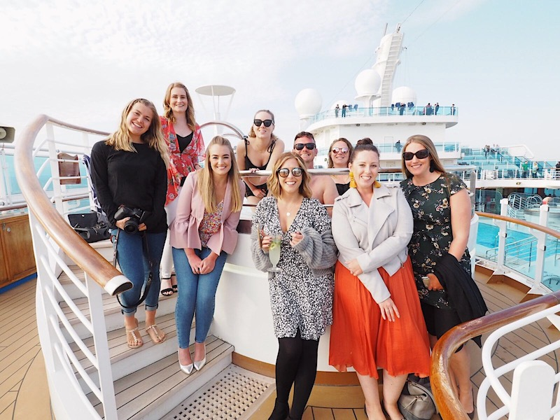 On a blog trip with Princess Cruises