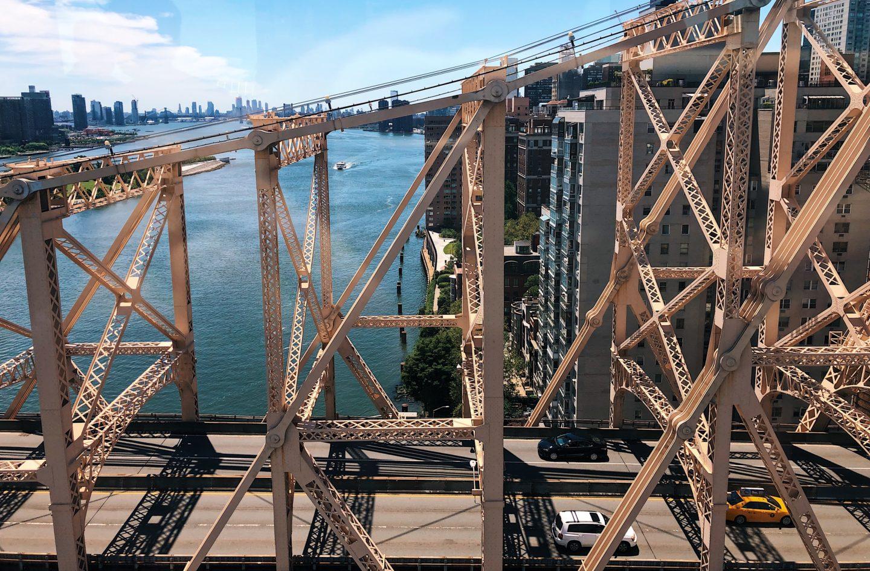 Roosevelt Island aerial tram way