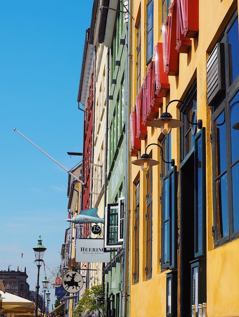Copenhagen's iconic Nyhavn Harbour.