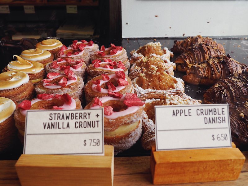 Cronuts at Rustica Bakery Fitzroy