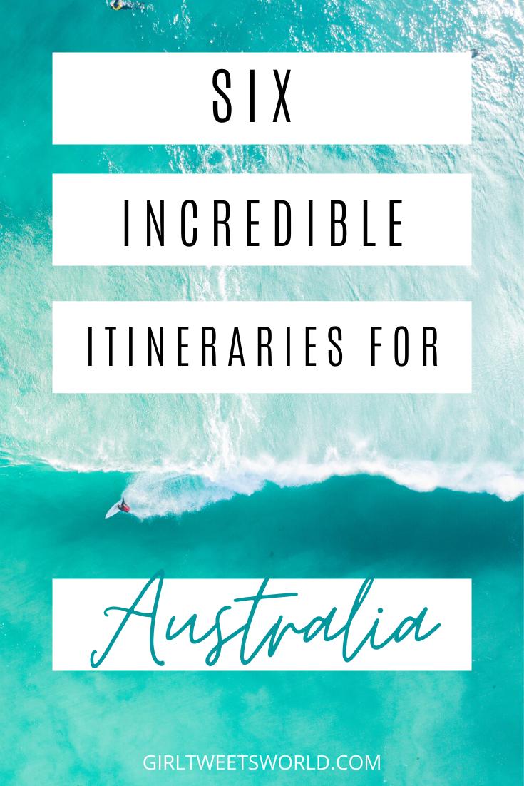 6 incredible Australia holiday itineraries