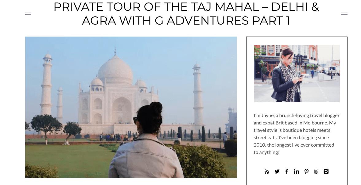 G Adventures India