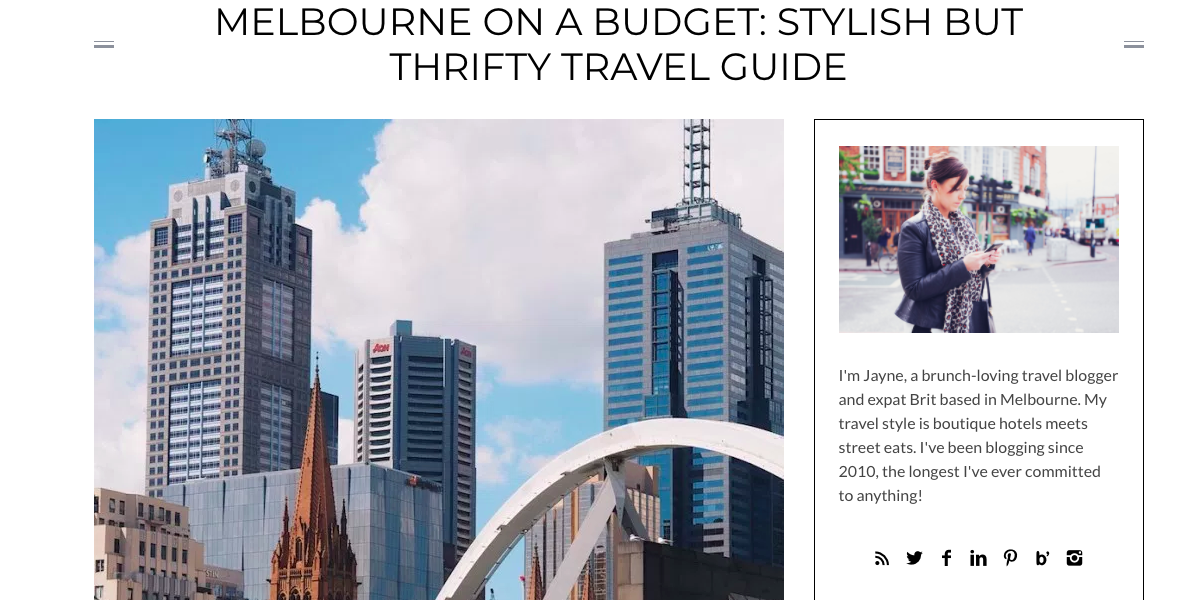 Expedia Sponsored Post Melbourne