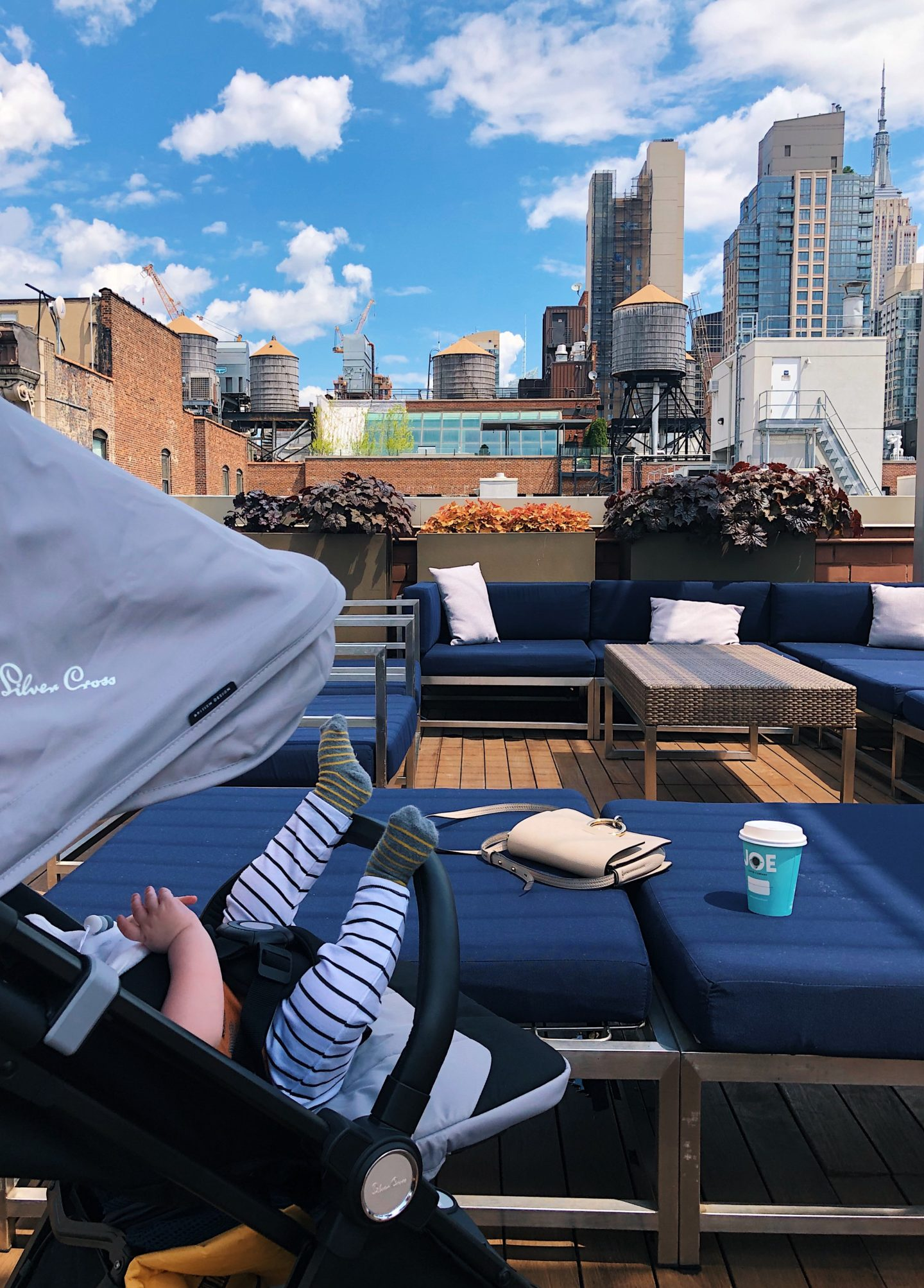Sonder apartment in Chelsea NYC with rooftop terrace