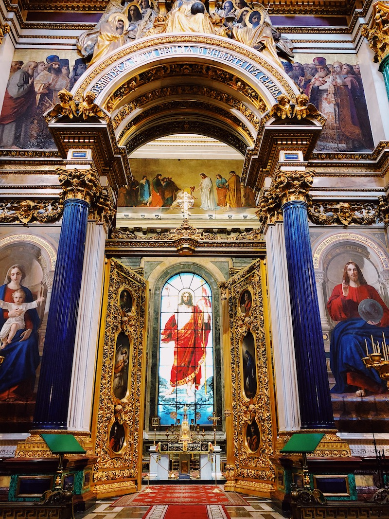 Exploring St Isaac's Cathedral St Petersburg