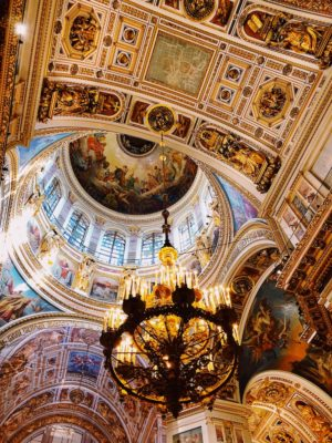 Giggles In St Isaac's Cathedral: Travels In St Petersburg
