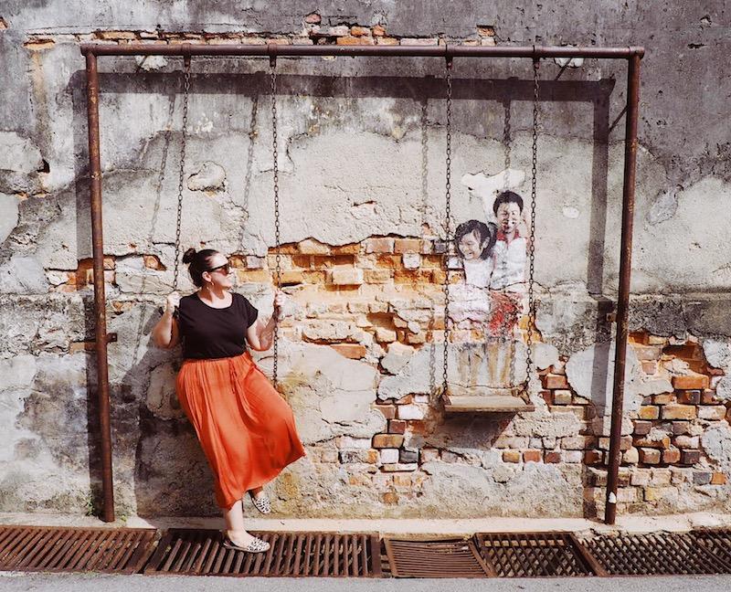Street art in George Town Penang
