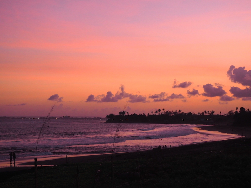 Sunset at The Royal Purnama Bali