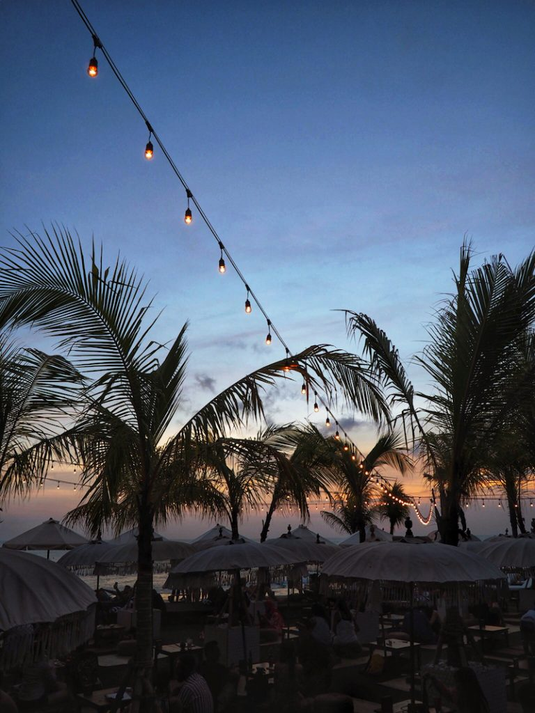The Lawn Beach Club in Canggu Bali