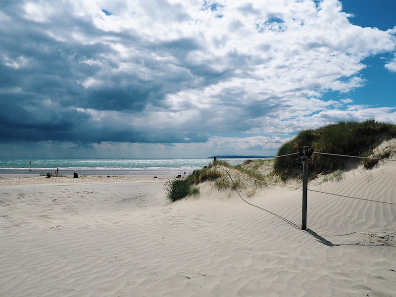 Day out at West Wittering Beach West Sussex