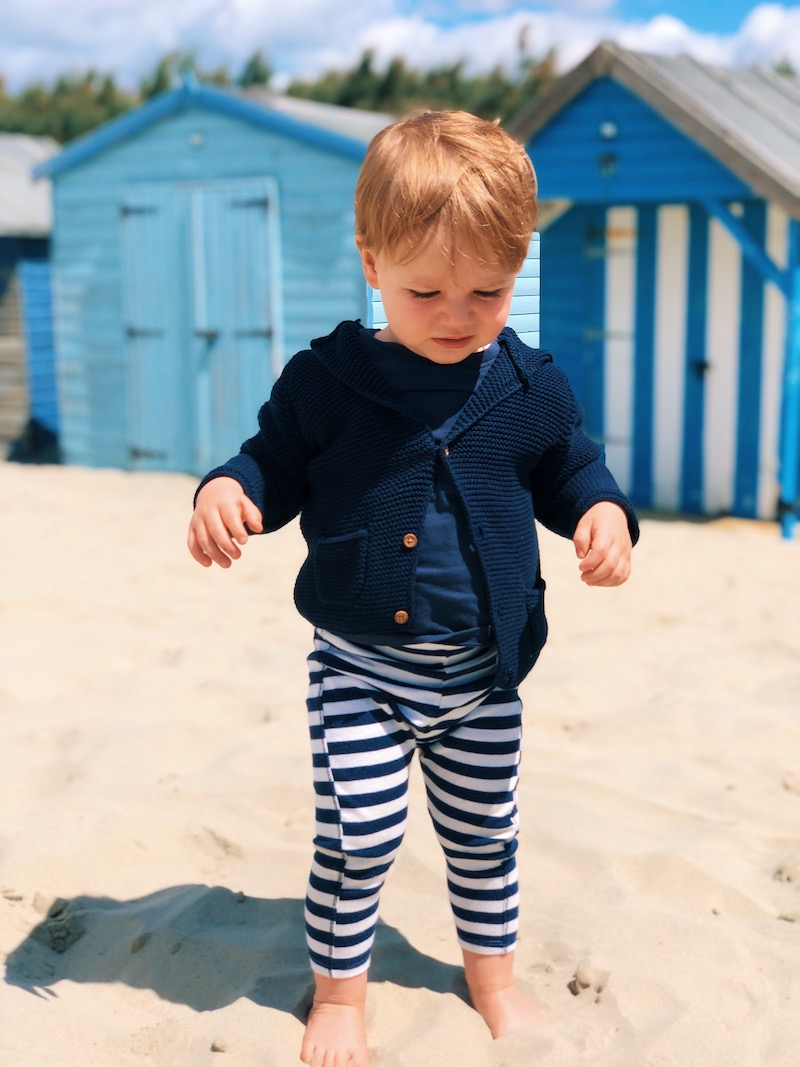 Day out with a toddler at West Wittering Beach West Sussex