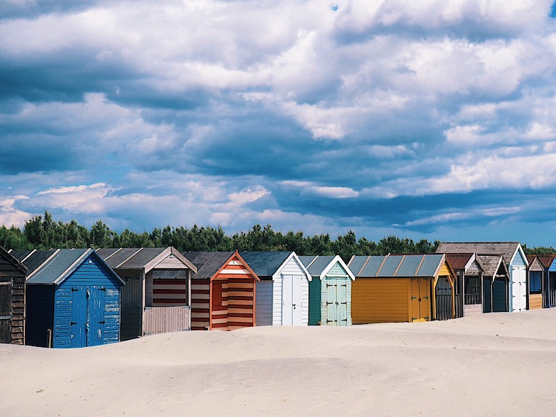 Beach huts at West Wittering Beach