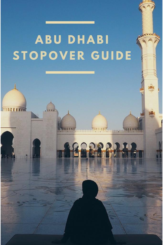 Abu Dhabi stopover guide