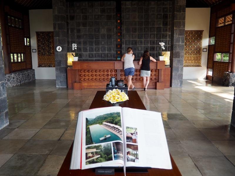Lobby at Alila Ubud