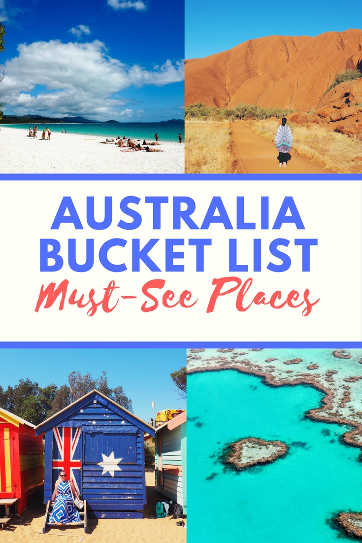 Australia bucket list - places and experiences you must not miss