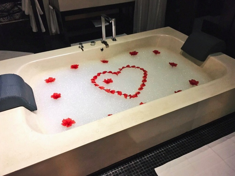 Honeymoon bliss