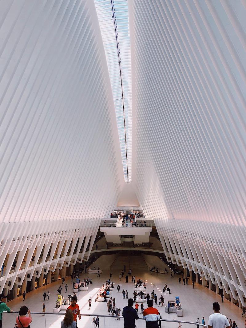 The Oculus WTC New York