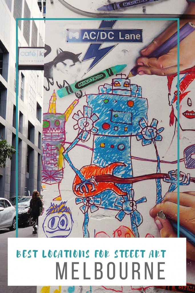 best locations for street art in Melbourne Australia