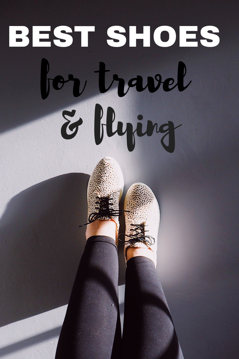 Best shoes for travel and flying Rollie review