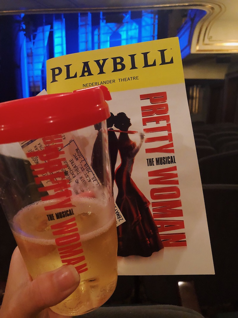 Winning Broadway Lottery for Pretty Woman: The Musical