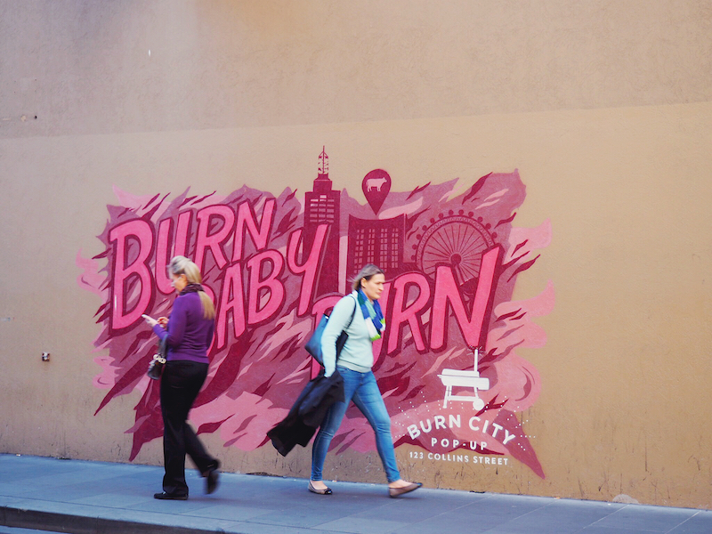 Burn City street art