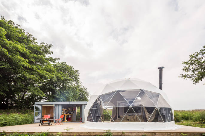 Eyl Geodome in Cornwall by Canopy & Stars