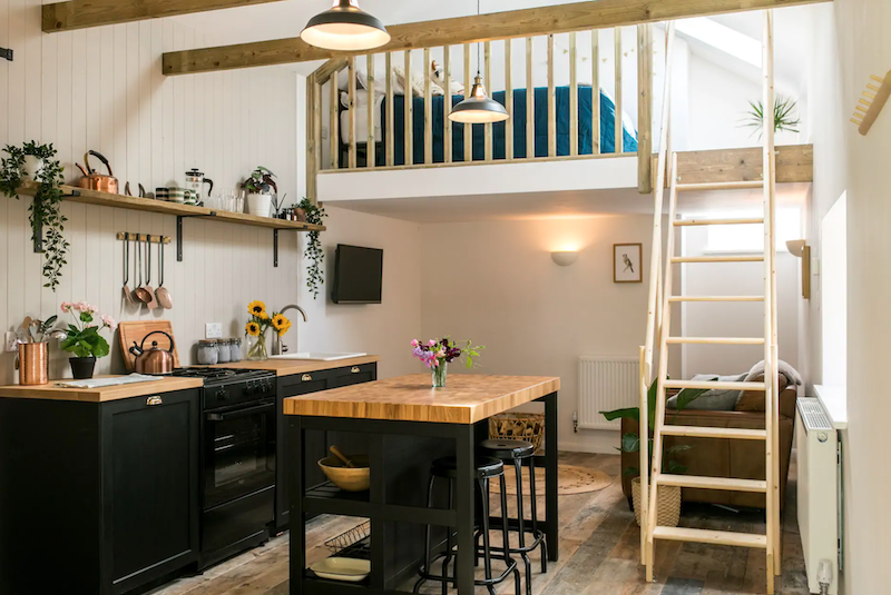 A chic cowshed conversion in Cornwall