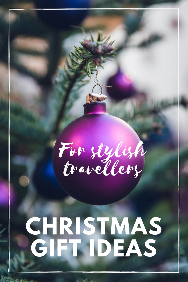 christmas gift ideas for stylish travellers