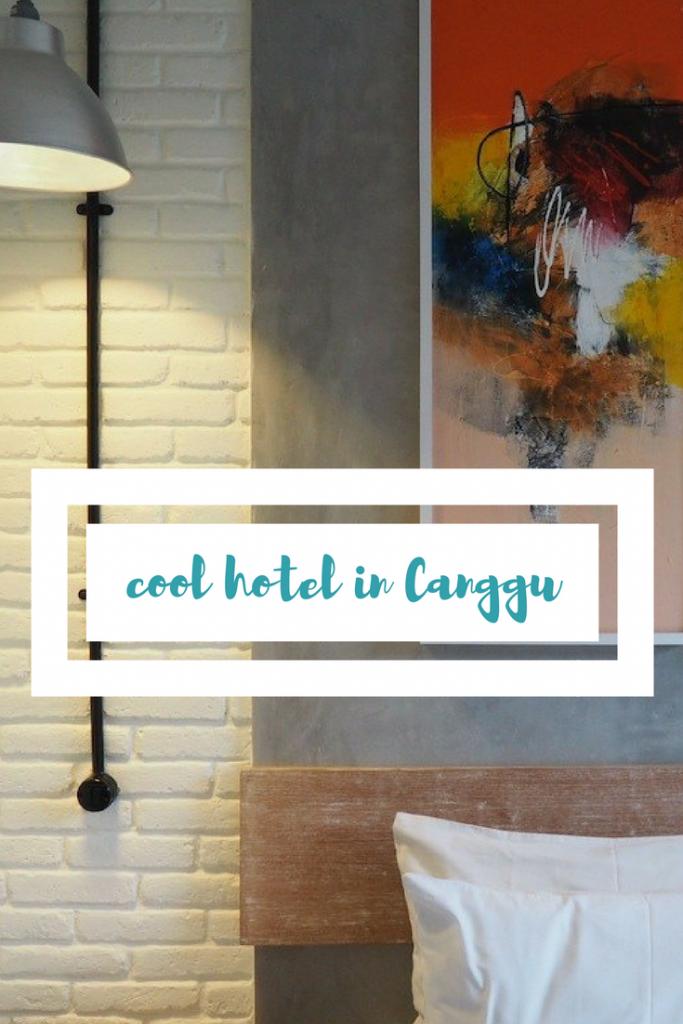 cool hotel in canggu