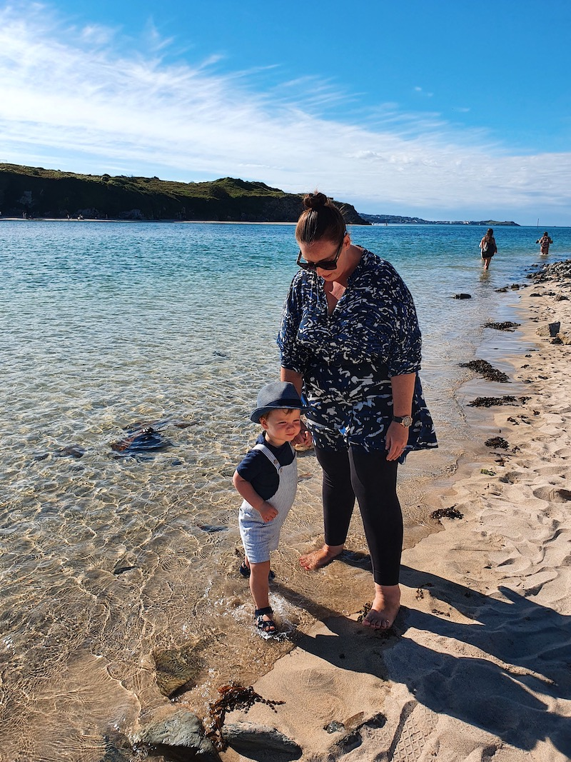 Cornwall with a toddler