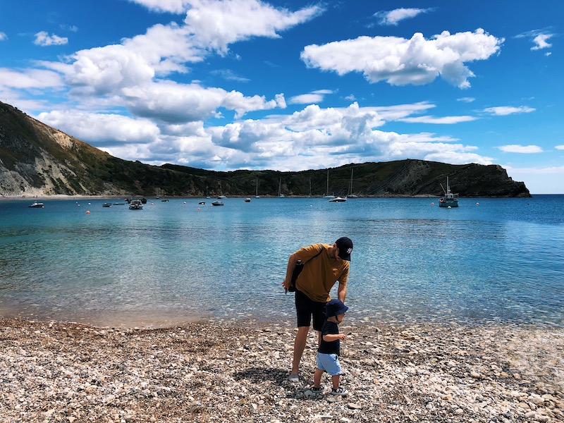 Our Dorset family holiday - Lulworth Cove