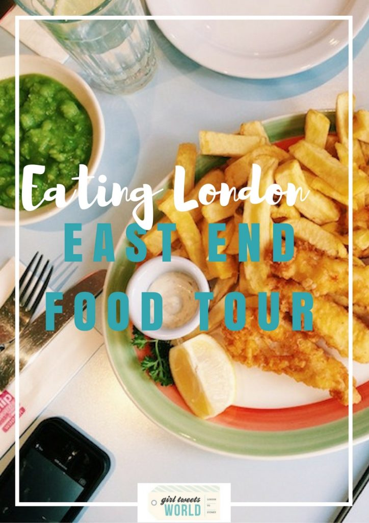 eating london east end food tour
